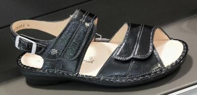 sandales confortables noir