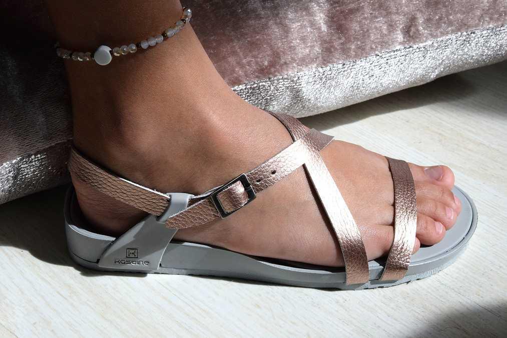 Sandale semelles orthopediques enfant