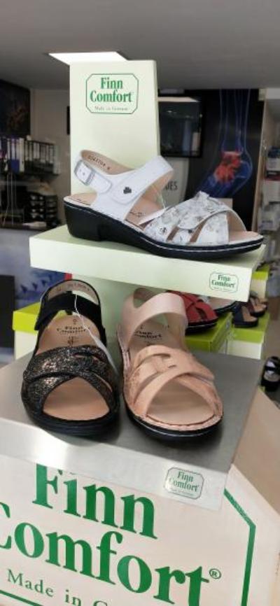 chaussures de confort ouvertes Finncomfort